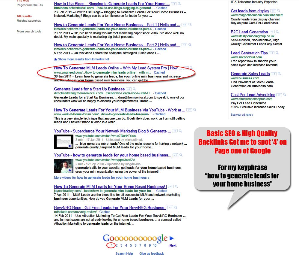 Backlink Seo For Google