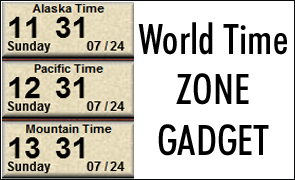 Windows 7 world time zone gadget the official blog of abdul waheed windows 7 world time zone gadget to help you get your time zones right sciox Image collections